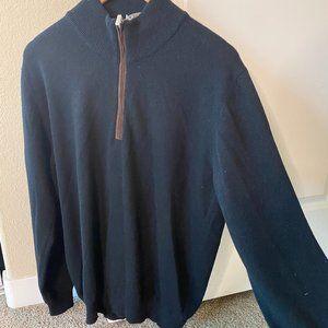 Della Ciana Black Cashmere & Wool Sweater M